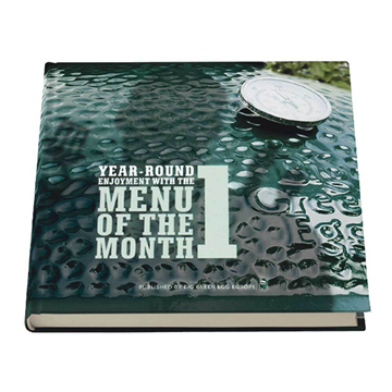 Big Green Egg Yemek Kitabı - Menu Of The Month Book